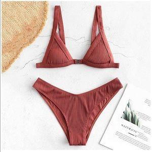LEIGHA Ribbed Bikini